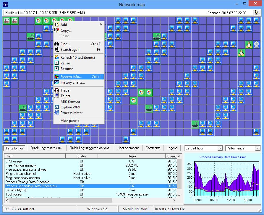 ks soft advanced host monitor