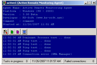 Active Remote Monitoring Agent for Windows